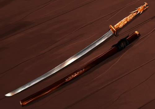 Registro de Armas Katana_Dragon