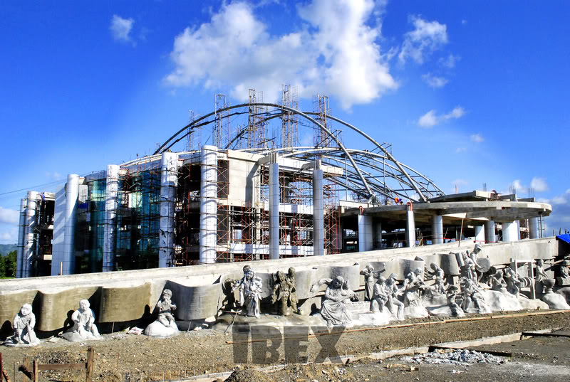 Update pics of New Tagum City Hall... Cityhall
