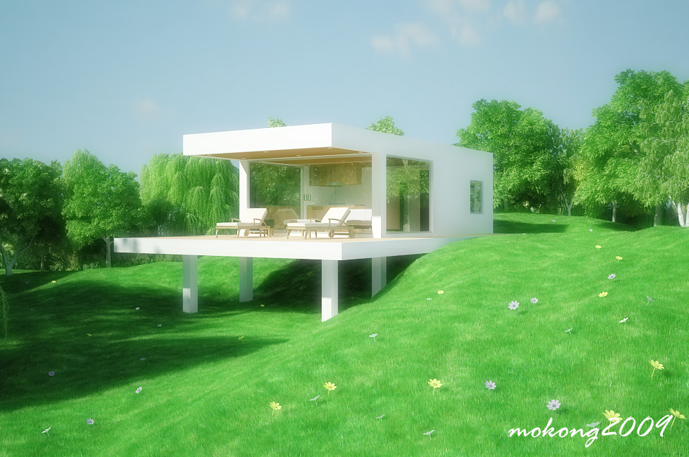 My Renderings done in 3ds max+vray.. Dreamy