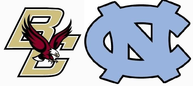Boston College vs North Carolina BCvsUNC