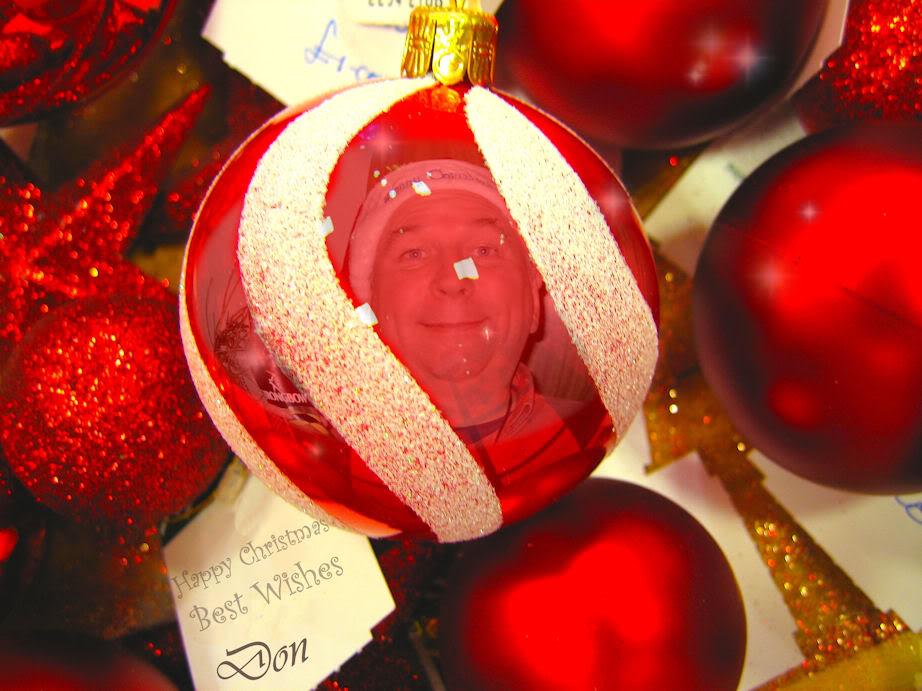 Happy Christmas Laminar Loonies Donbauble