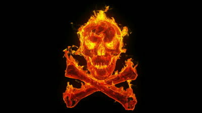 Tekken Pirates (Done) Stock-footage-burning-skull-and-crossbones_zps56opfc45