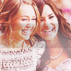 'We're perfectly imperfect! Like fire & rain, like venus & mars, we're differents stars!' Welcome to Demi relations Rawr :3 - Página 2 Demi-and-miley-icon-2
