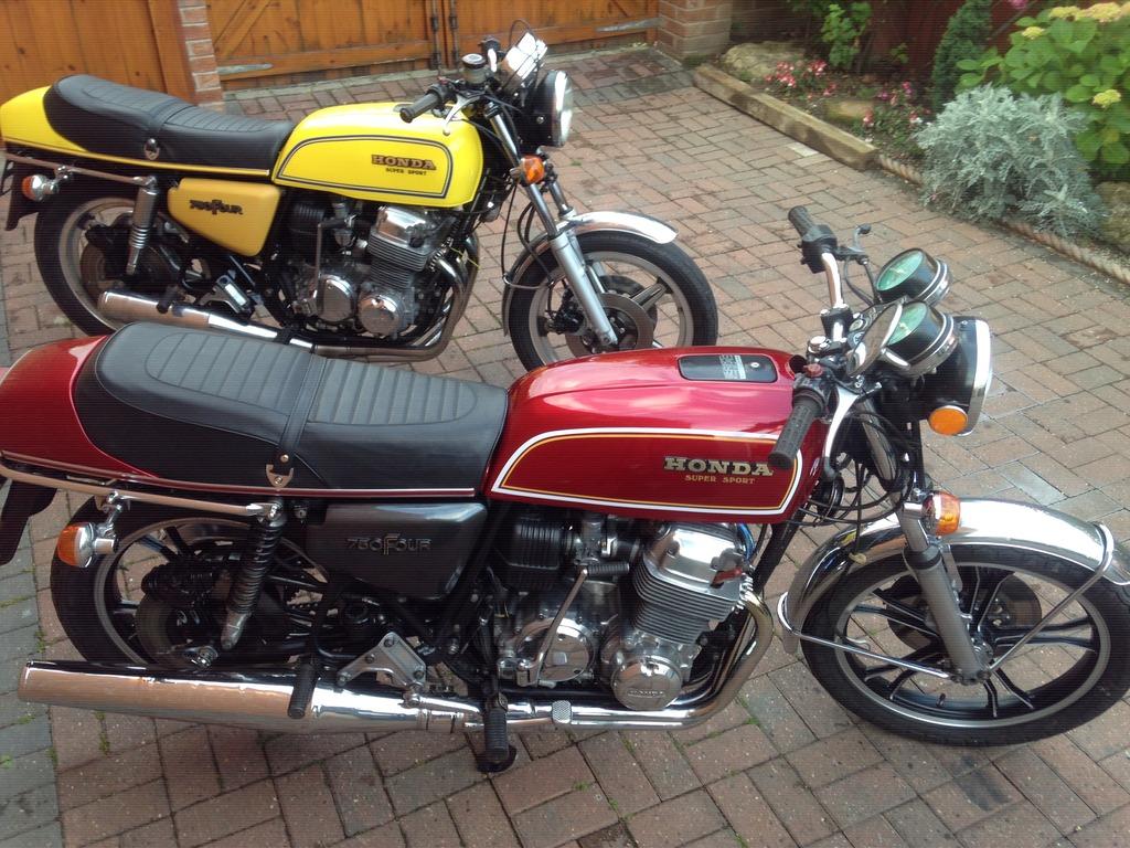 My 1977 Honda CB750 Four F1 IMG_3937