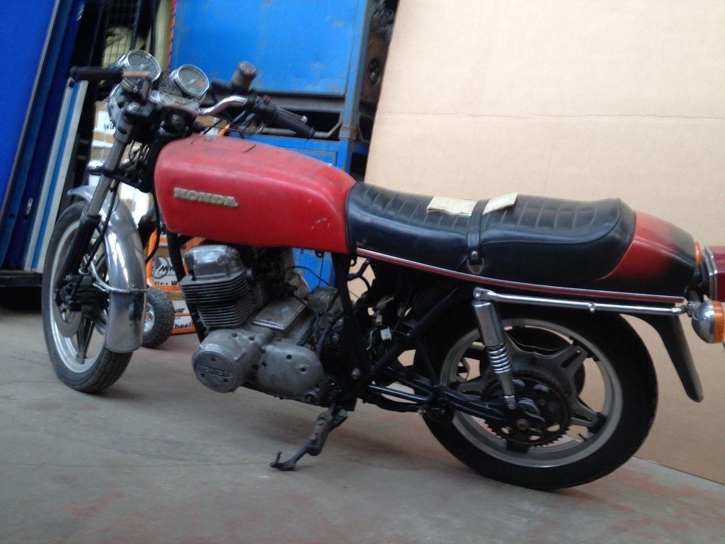 My 1977 Honda CB750 Four F1 _57-7