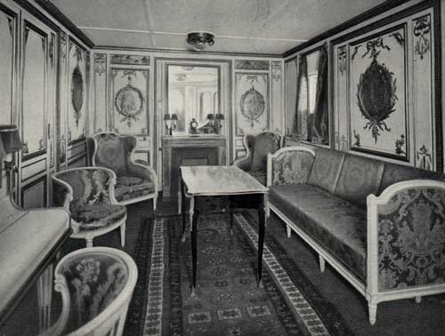 SS France (1912) Photo-03-SalonDeLAppartementDeGrand