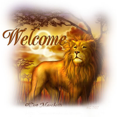 WELCOME DanarVictom WelcomeLion