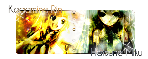The Eyes Of Death Vocaloid-RineMiku-Assinatura