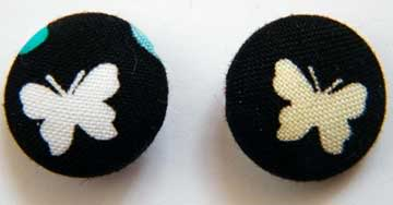 Fabric Buttons July-100