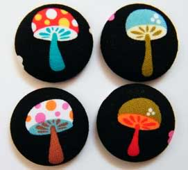 Fabric Buttons July-104