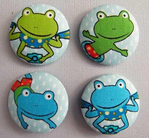 Fabric Buttons MarketST50-015