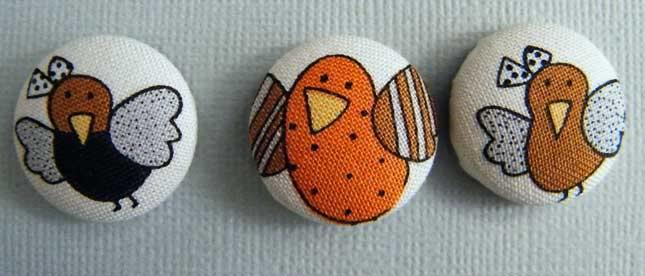 Fabric Buttons MarketST50-018