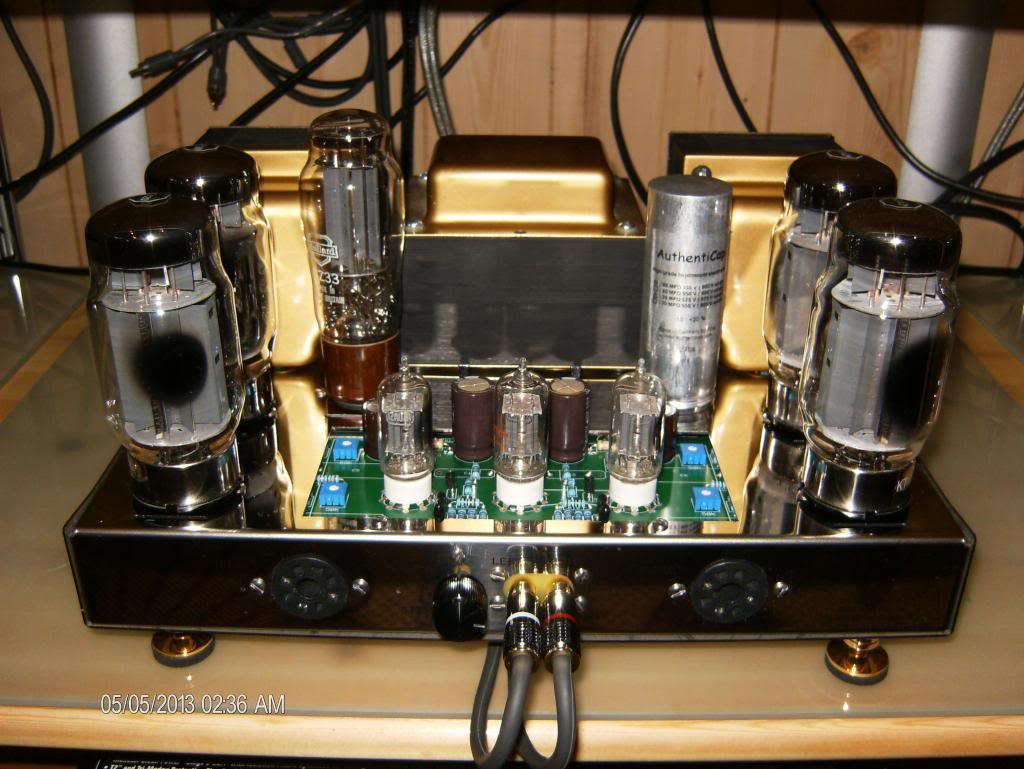 KT 120 tubes installed (pic) KT-120andDelphi003