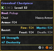 Great Forest Bounty Boards HWBBGreenleafChestpiece