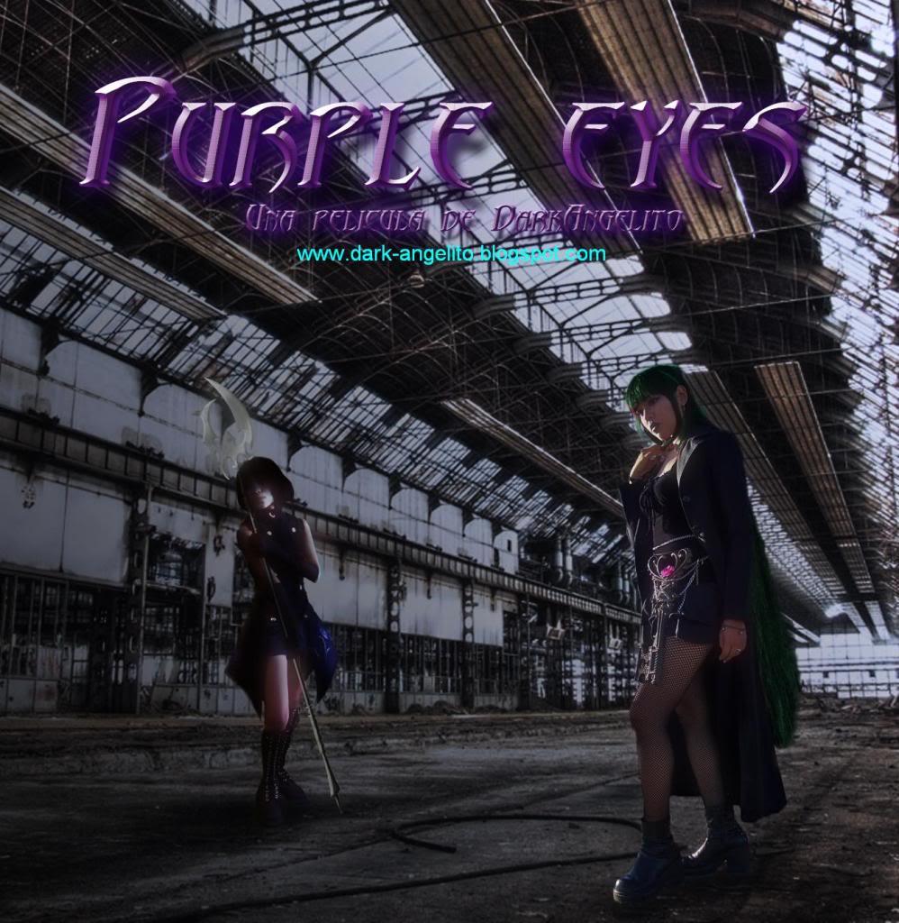 Purple Eyes, fan film de Sailor Saturn Poster-Pluto-y-Saturn