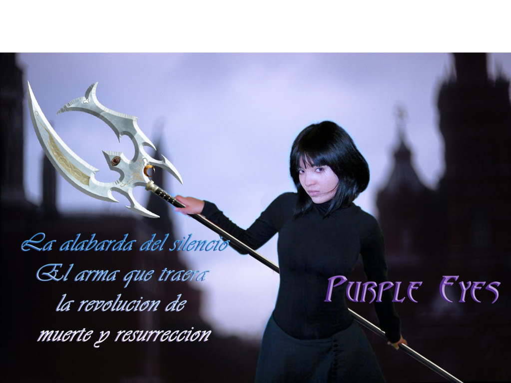 Purple Eyes, fan film de Sailor Saturn Alabarda