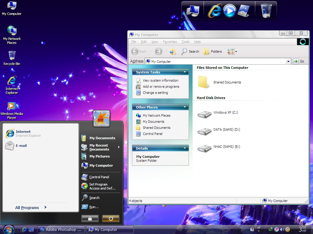 نسخة جوست ويندوز اكس بي سيرفيس باك 3  Theme_vs