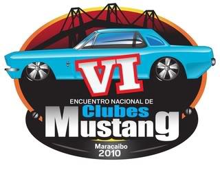 VI Encuentro Nacional de Clubes Mustang Logoevento2010