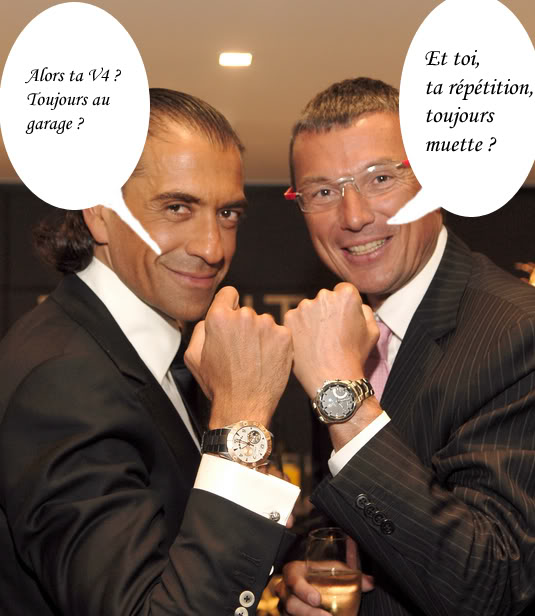 Jean-Christophe Babin aimerait porter Hublot et Zenith Duo8