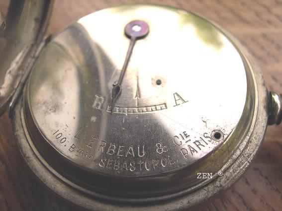 Chronomètres de chemins de fers ... GoussetCheminsdeferdelESTinterieurc