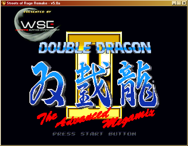 Double Dragon Ii The Advance Megamix By Wse