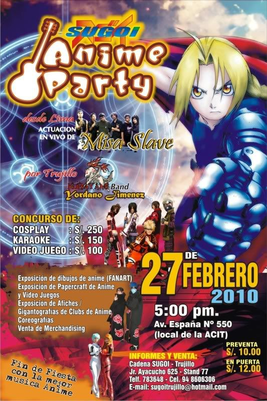 SUGOI ANIME PARTY 3!! 27/02 AficheSugoiIIIJPG