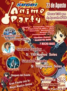 Sugoi Anime Party 2009!!! - Página 2 Afichedegcopia