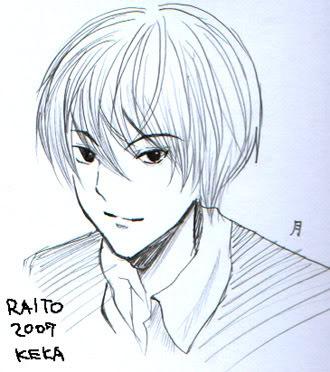 dibujitos y manga bye keka Raito