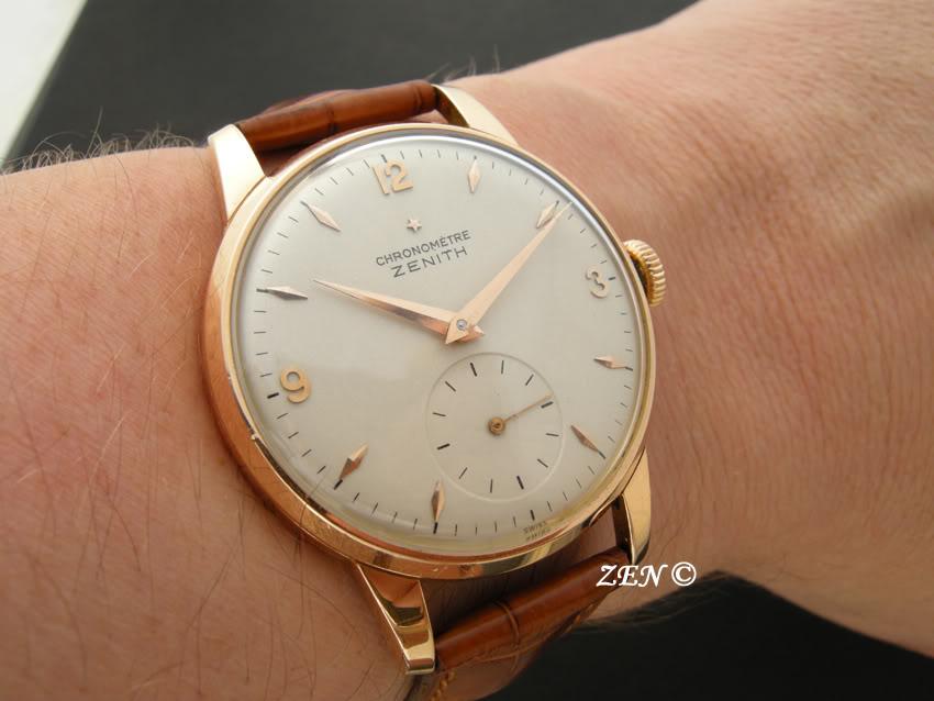 News : Zenith Class New Vintage 1955 Chronometre 135cadran