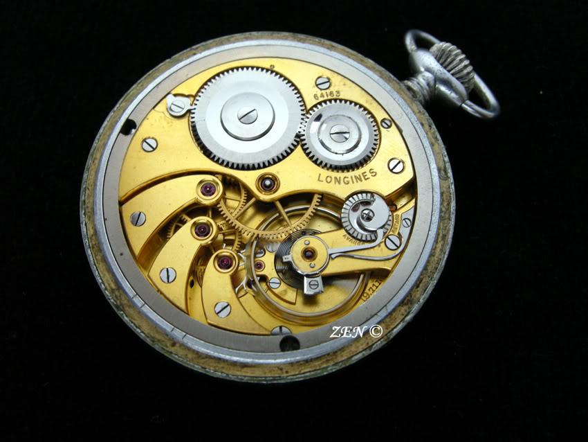 Votre montre de poche du moment ! Longinesmilitaireallemande