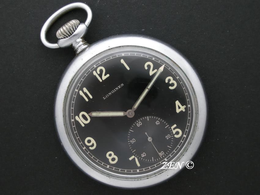 Votre montre de poche du moment ! Longinesmilitaireallemandecadran
