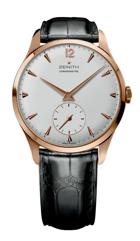 News : Zenith Class New Vintage 1955 Chronometre Zenclass