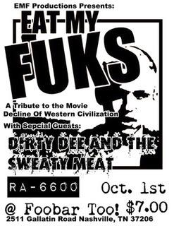 Eat My Fuks round two! NewEMF