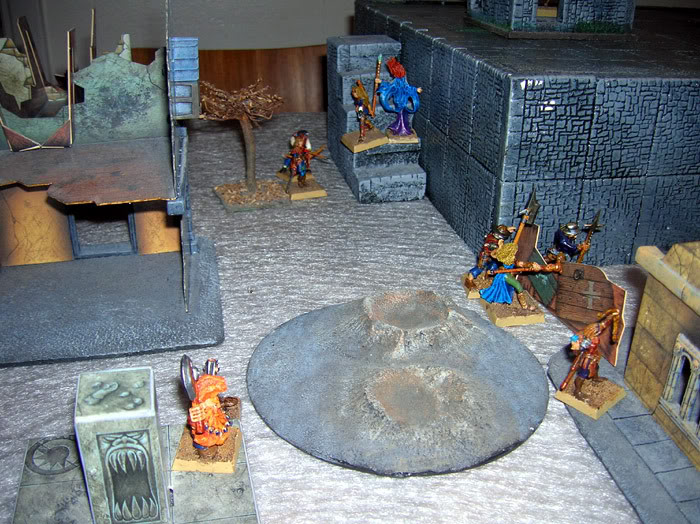 Flying rat and battle shots Mordheim14