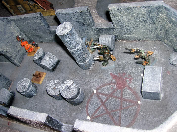 Flying rat and battle shots Mordheim16