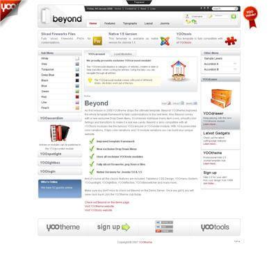 JOOMLA premium templates and joomla help desk 00-24! Beyond