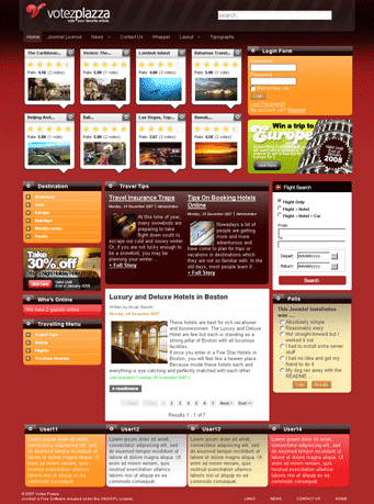 JOOMLA premium templates and joomla help desk 00-24! VotezPlazza