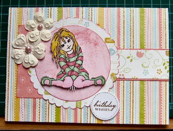 Ruth's October Card Birthdaygirl
