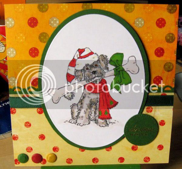 Christmas Cards DognBone