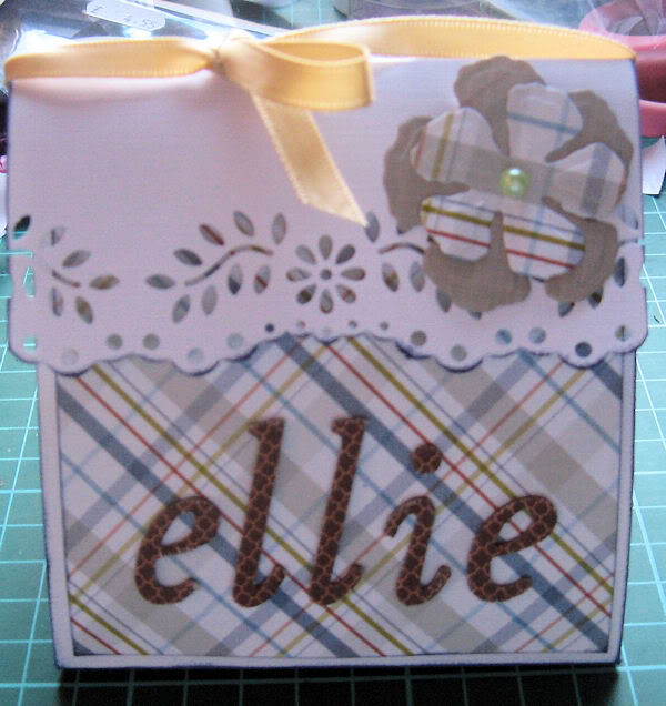 Handbag card Ellie
