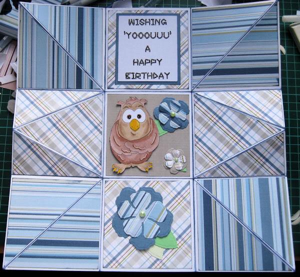 Handbag card Ellie2