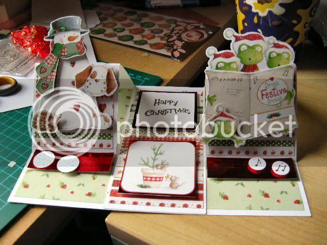 Card Class Christmas Card Pepperchristmascard