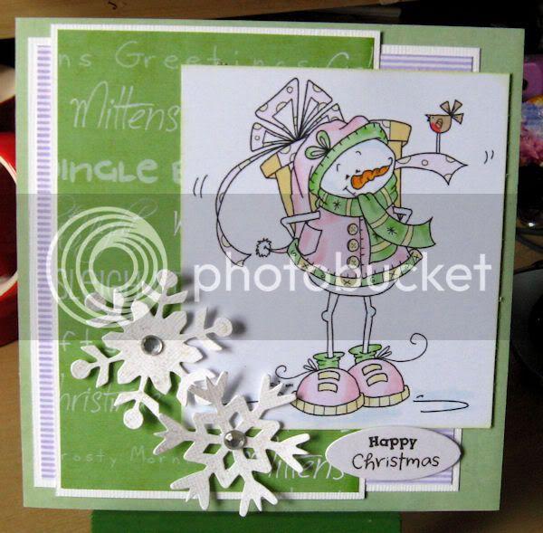 Christmas Cards SassySnowman