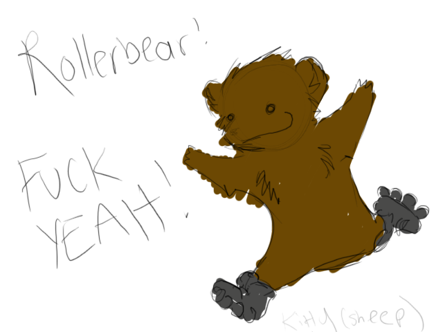 THE MASSIVE GALLERY OF FANART - Page 6 Rollerbear
