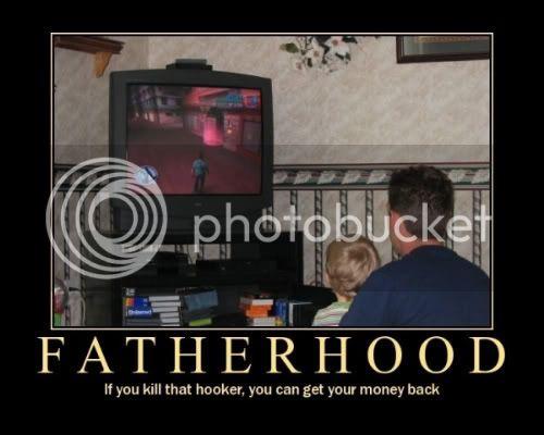 Demotivational Posters. Fatherhood