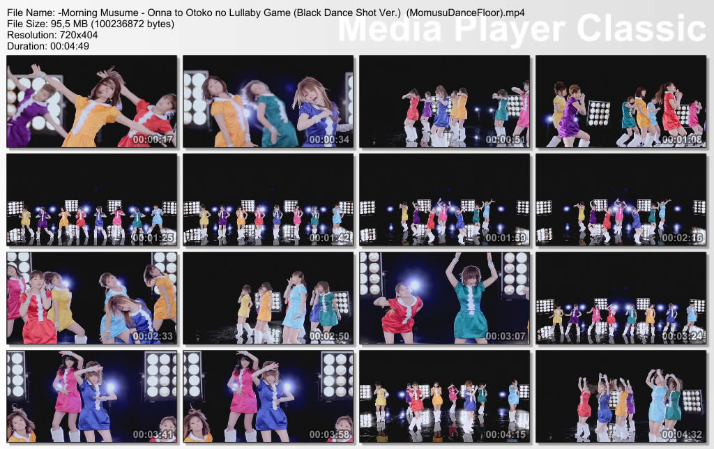 Morning Musume - Onna to Otoko no Lullaby Game [Making + Dance vers + Solo Album Vers] -MorningMusume-OnnatoOtokonoLullabyGameBlackDanceShotVerMomusuDanceFloormp4_thumbs_20110223_204042