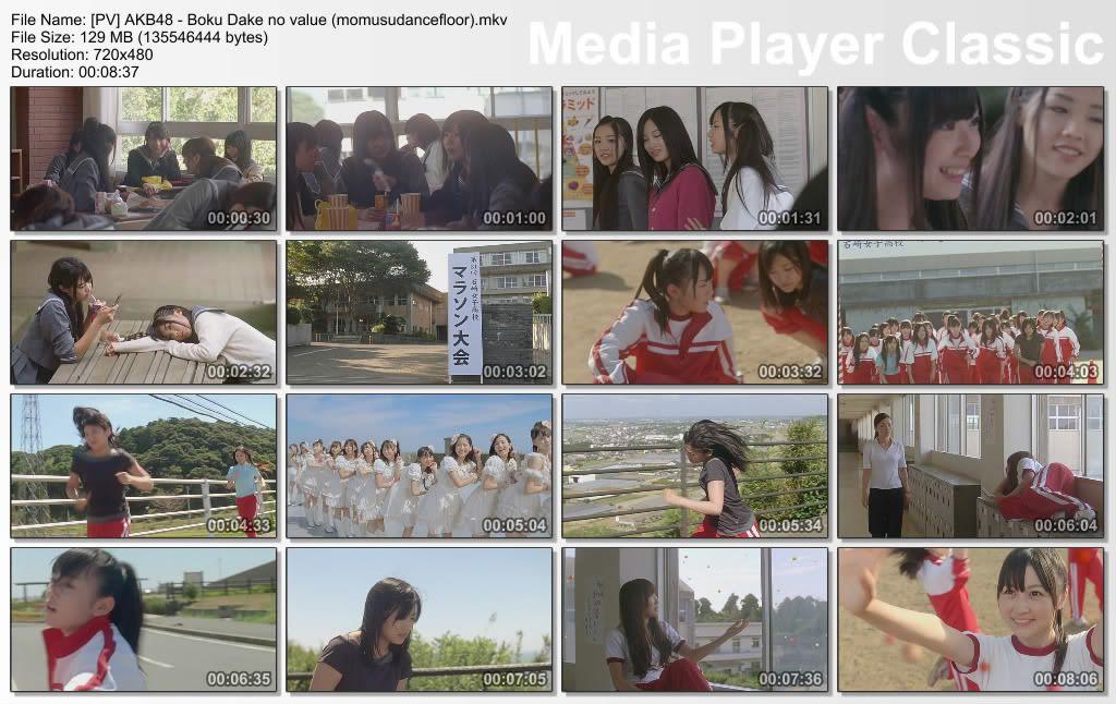 AKB48 - Boku Dake no value + Kimi ni Tsuite + Nakeru Basho [PV] PVAKB48-BokuDakenovaluemomusudancefloormkv_thumbs_20110620_210124