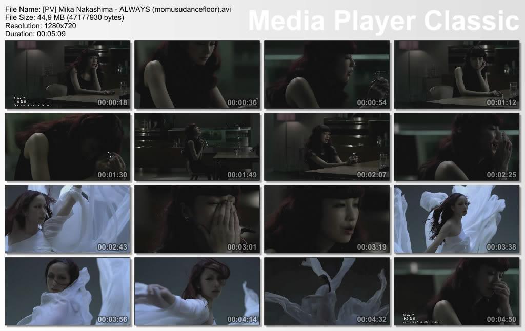 [PV] Mika Nakashima - ALWAYS + Ichiban Kirei na Watashi Wo + Over load  PVMikaNakashima-ALWAYSmomusudanceflooravi_thumbs_20110727_174650