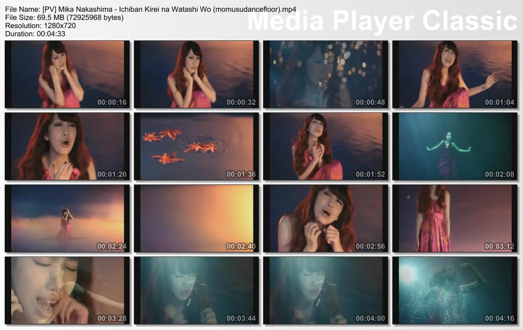 [PV] Mika Nakashima - ALWAYS + Ichiban Kirei na Watashi Wo + Over load  PVMikaNakashima-IchibanKireinaWatashiWomomusudancefloormp4_thumbs_20110727_180044