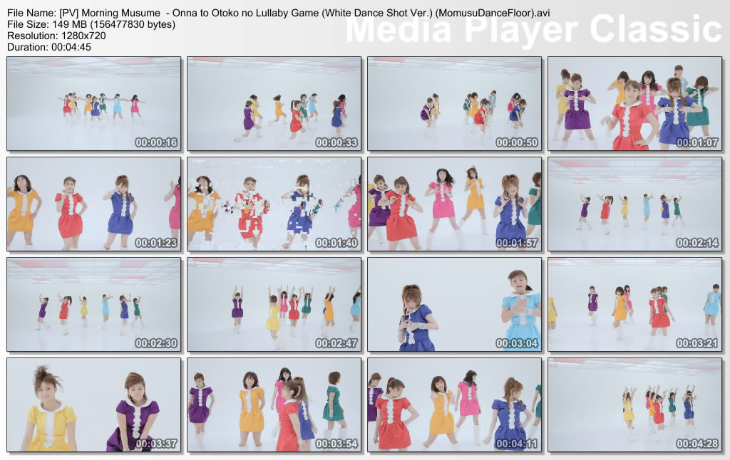 Morning Musume - Onna to Otoko no Lullaby Game [Making + Dance vers + Solo Album Vers] PVMorningMusume-OnnatoOtokonoLullabyGameWhiteDanceShotVerMomusuDanceFlooravi_thumbs_20110223_204701